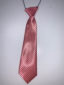 Narrow Red & White (Striped)