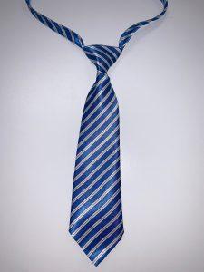 Blue & White (Narrow Stripes)