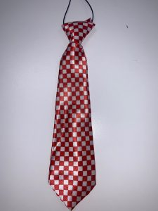 White & Red (Checkered)